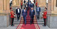 الفايز يبحث مع رئيس وزراء جورجيا تعزيز العلاقات الثنائية بين البلدين الصديقين