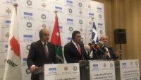 """الاجتماع الثلاثي لرؤساء برلمانات الأردن واليونان وقبرص يؤكد على """"حل الدولتين"""""""